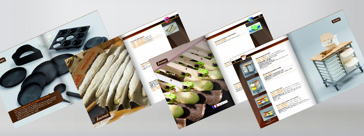 Venta de accesorios para el obrador de panadería y pastelería