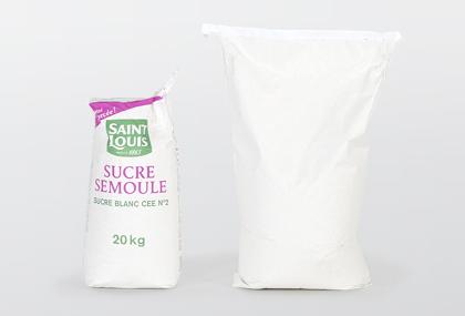 Azúcares de grano fino Sémola y Surfin